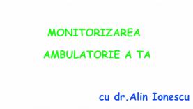 monitorizarea ambulatorie
